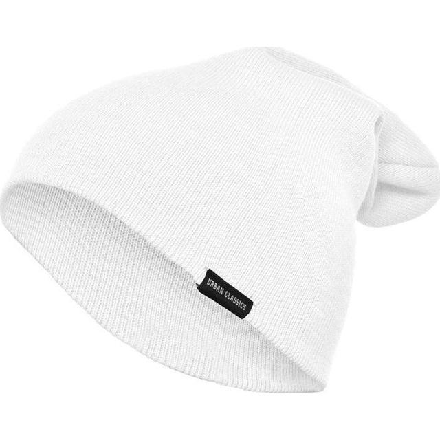 Urban Classics Long Beanie - White