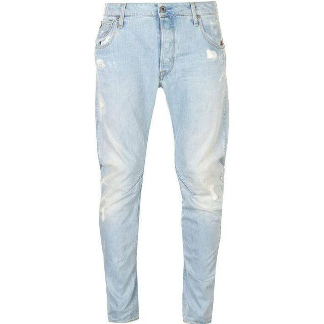 G-Star Arc 3D Slim Jeans - Light Aged Destroy