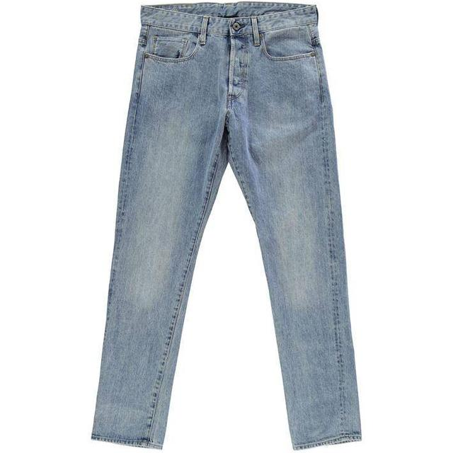 G-Star 3301 Tapered Jeans - Light Aged Stone