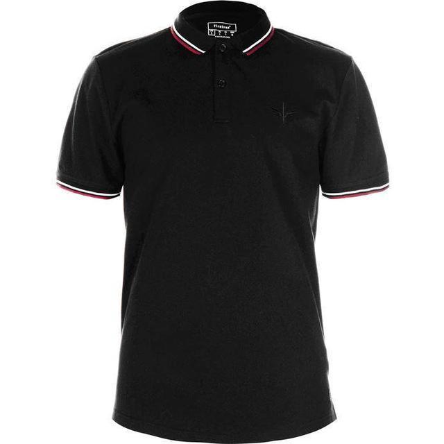 Firetrap Lazer Slim Fit Polo Shirt Black