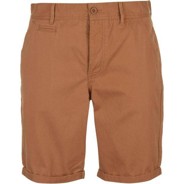 Kangol Chino Shorts - Dark Sand