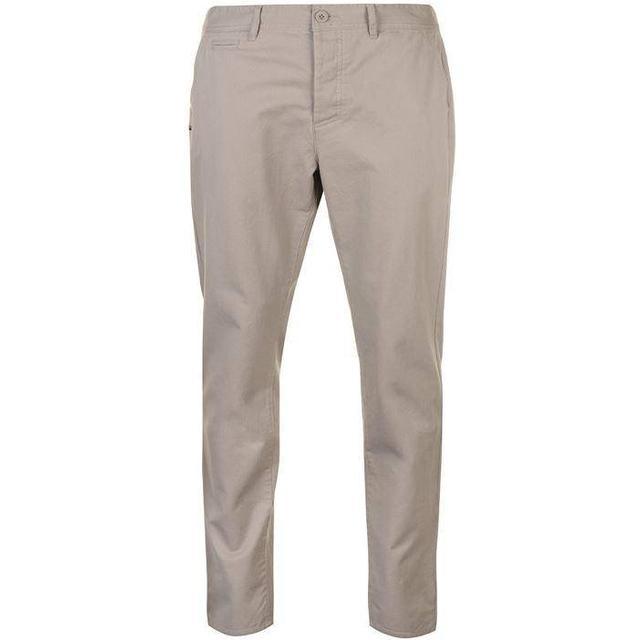 Kangol Chino Trousers - Light Grey