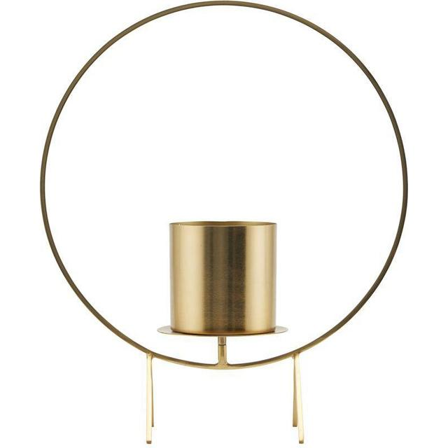 House Doctor Circle 40cm Lysestage