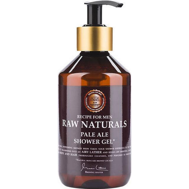 Recipe for Men Raw Naturals Pale Ale Shower Gel 300ml