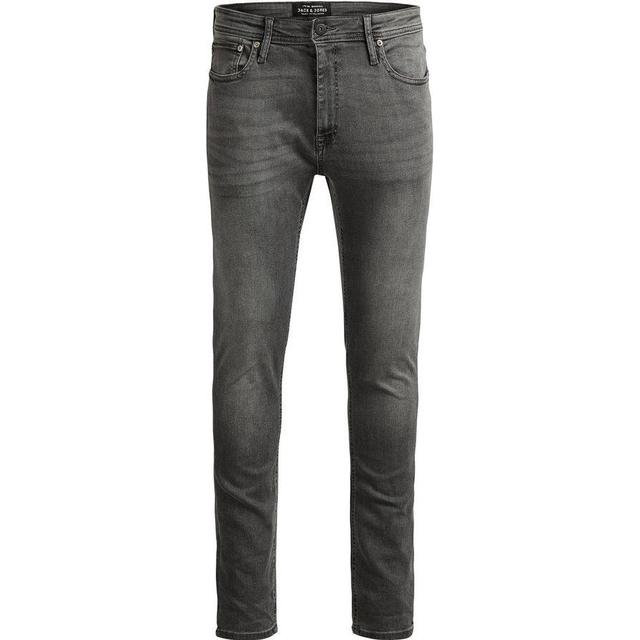 Jack & Jones Liam Original AM 010 Skinny Fit Jeans - Grey/Grey Denim