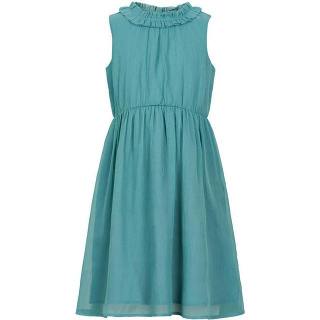 Creamie Chiffon Dress - Smoke Blue (820747 S-9412)