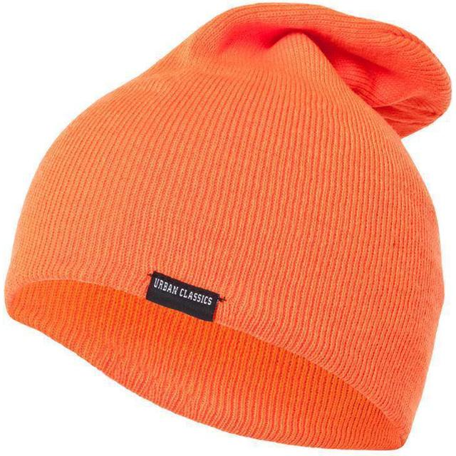 Urban Classics Neon Long Beanie - Orange