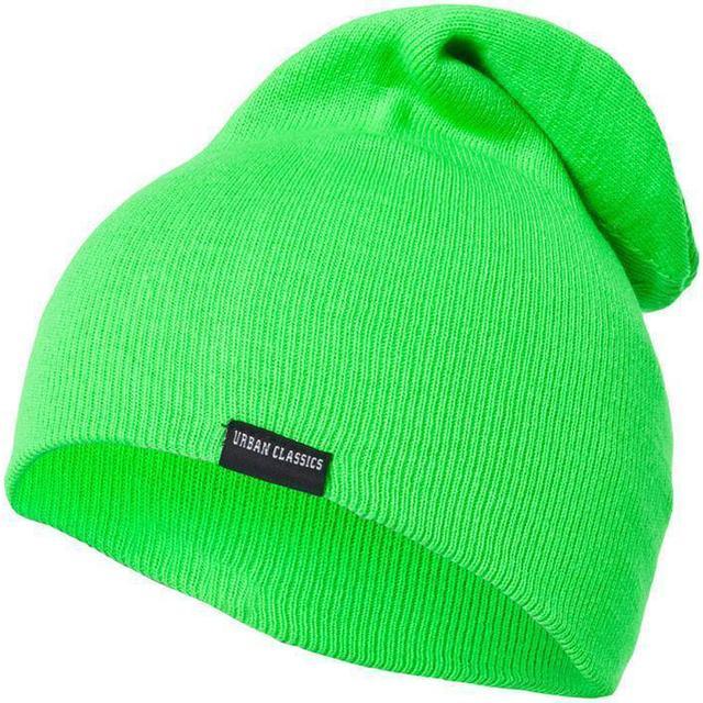 Urban Classics Neon Long Beanie - Green