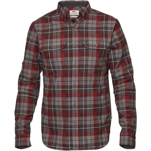 Fjällräven Singi Heavy Flannel Shirt - Dark Grey