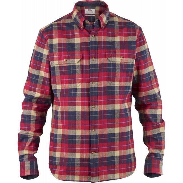 Fjällräven Singi Heavy Flannel Shirt - Deep Red
