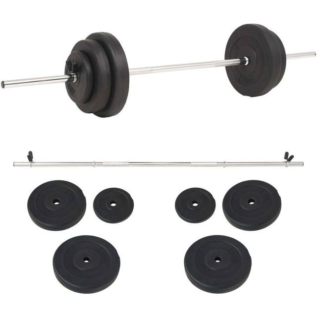 vidaXL Barbell Set 30kg
