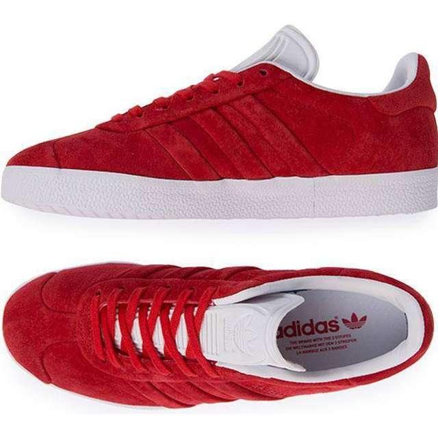 latest discount sale get new Adidas Gazelle Stitch & Turn - Red/White