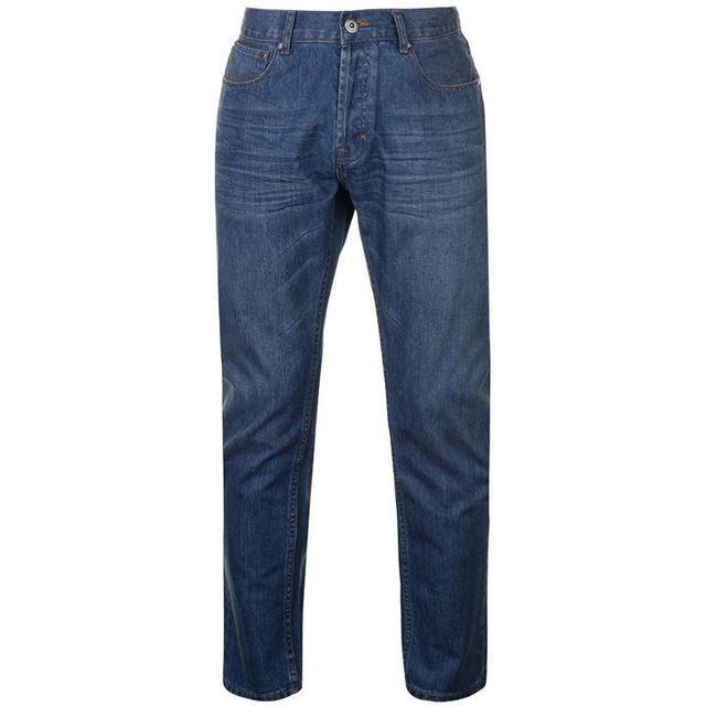 Firetrap Rom Jeans - Reg Mid Wash
