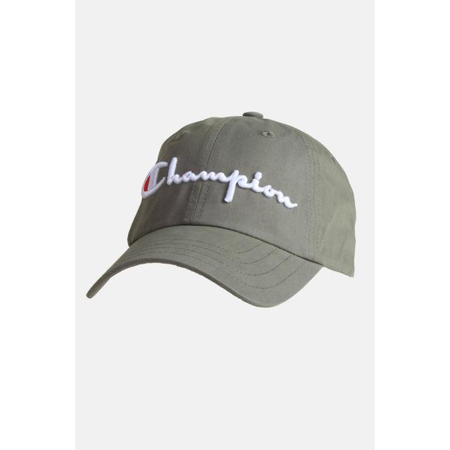 Champion Classic Script Logo Baseball Cap Green