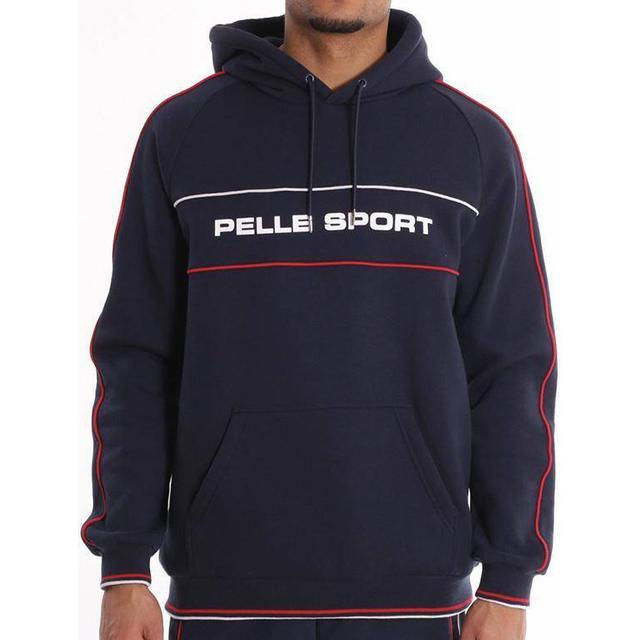 Pelle Pelle Linear Hoodie Navy