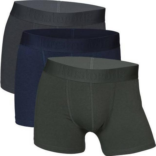 Resteröds Gunnar Bamboo Boxer 3-pack - Grey/Blue