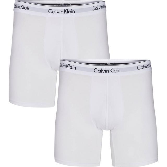 Calvin Klein Modern Cotton Boxers 2-pk - Hvid