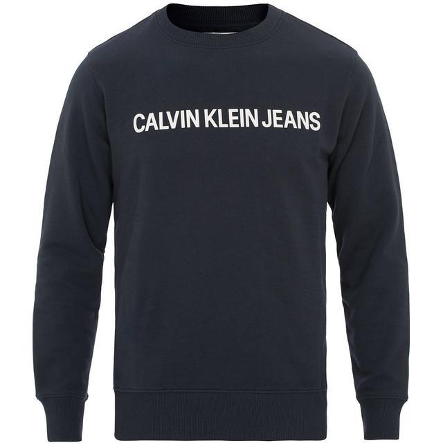 Calvin Klein Logo Sweatshirt Night Sky