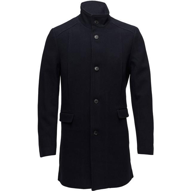 Selected Slhmosto Wool Coat - Dark Navy