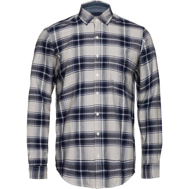 Signal Pelle Oxford Classic Check Shirt - Duke Blue