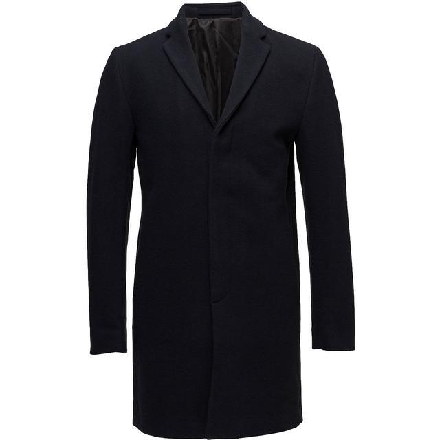 Selected Wool Coat Blue/Dark Navy