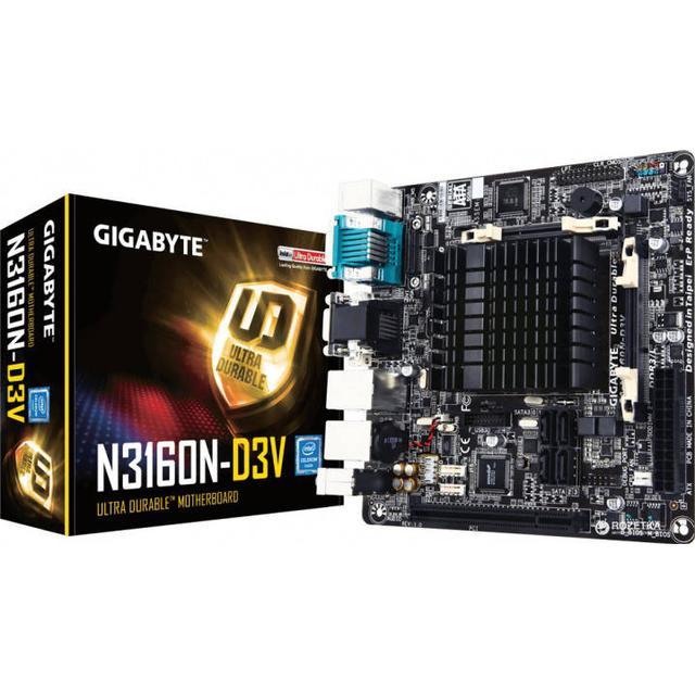 Gigabyte GA-N3160N-D3V (rev. 1.0)
