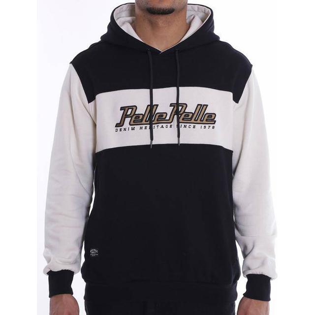 Pelle Pelle Heritage Colorblock Hoodie - Black