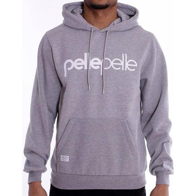 Pelle Pelle Back 2 the Basics Hoodie - Heather Grey