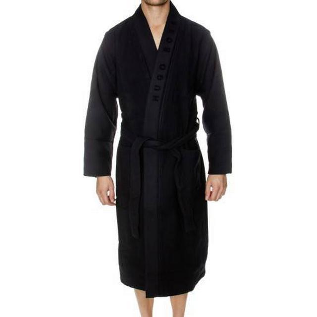 Hugo Boss Waffle Kimono - Dark Blue