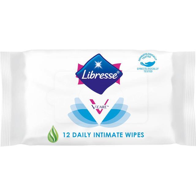 Libresse V-Care Intimservietter 12-pack