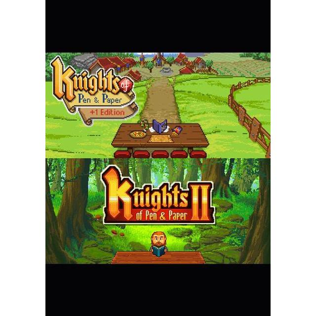 Knights of Pen & Paper I & II Collection