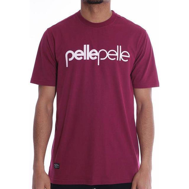 Pelle Pelle Back 2 the Basics T-shirt - Red