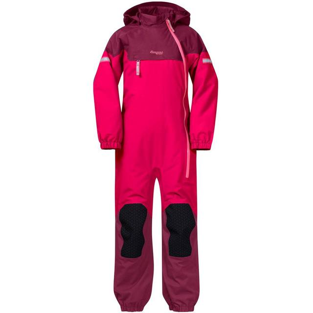 Bergans Ruffen Insulated Kids Coverall - Dark Sorbet/Jam/Desert