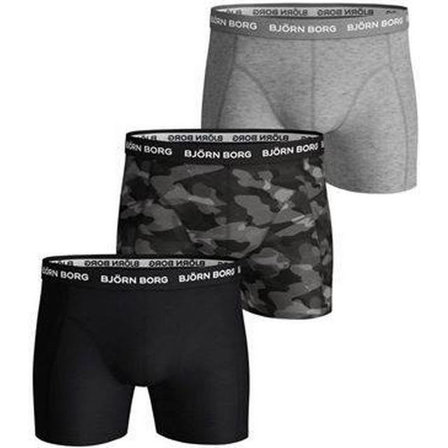 Björn Borg Shadeline Essential Shorts 3-pack - Black Beauty