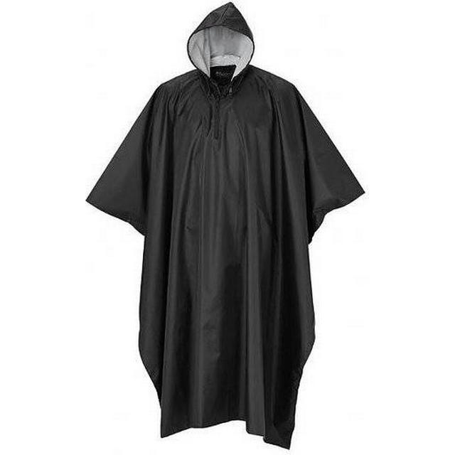 Pinewood Rainfall Poncho - Black