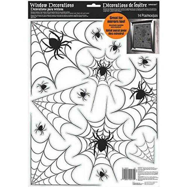 Amscan Spider Web Window (248600)