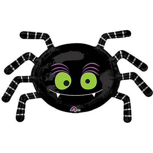 Amscan SuperShape Striped Spider P30 (3384201)