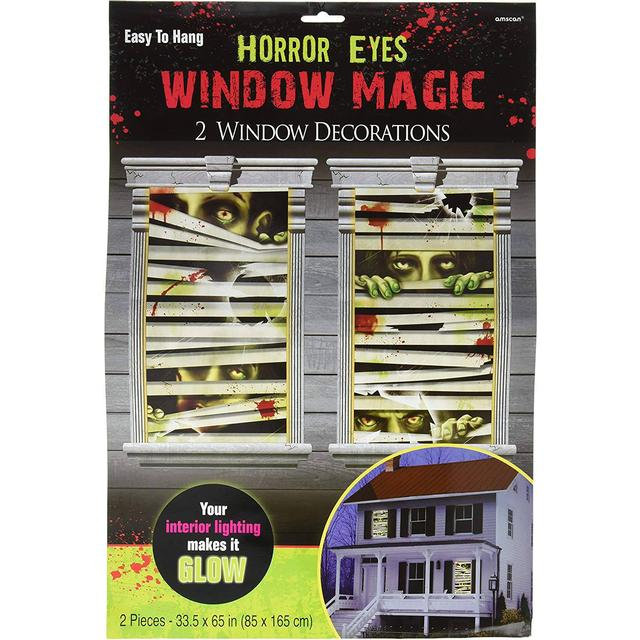Amscan Window Horror Magic Eyes (672193)