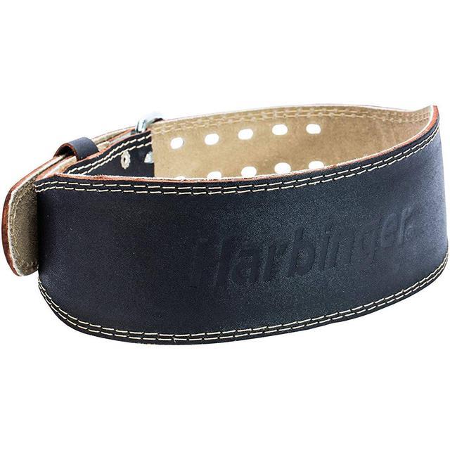 """Harbinger Padded Leather Belt 4"""""""