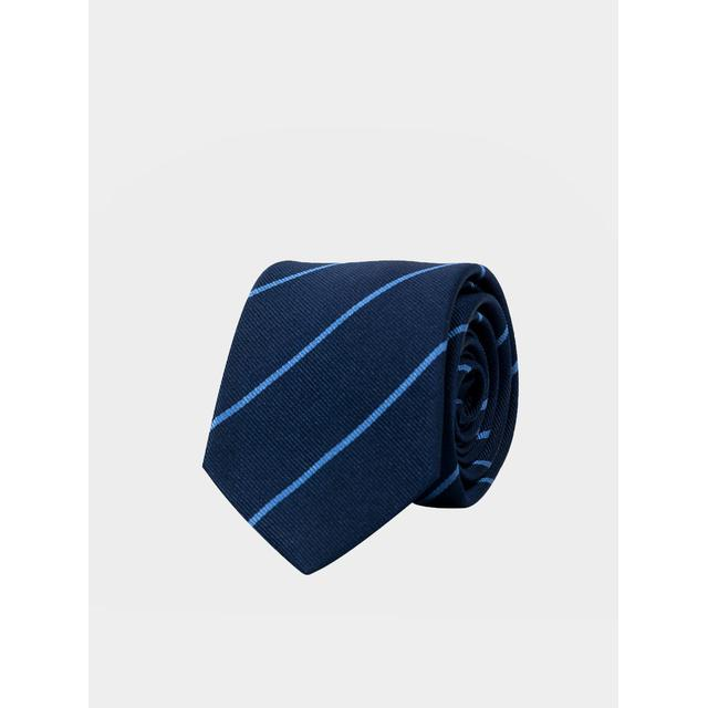 An Ivy The Banker Tie - Blue