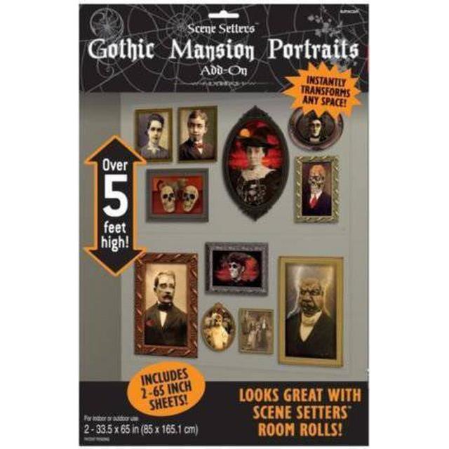 Amscan Gothic Portraits Add-Ons (673032)