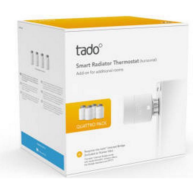 Tado Smart Radiator Thermostat V3+ Quattro (Horizontal)