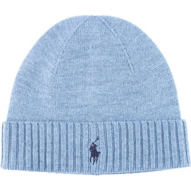 Polo Ralph Lauren Wool Pony Hat - Light Chambray Heather