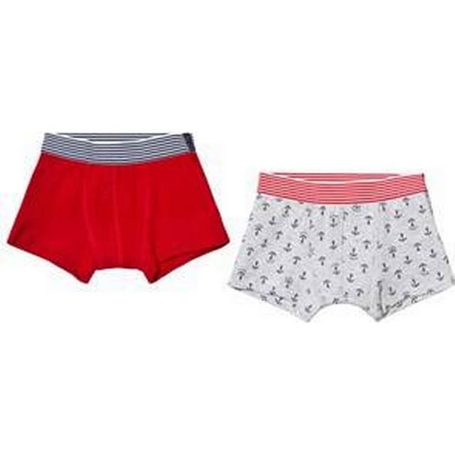 Petit Bateau Little Boys Boxer 2-pack - Red (4461100050)