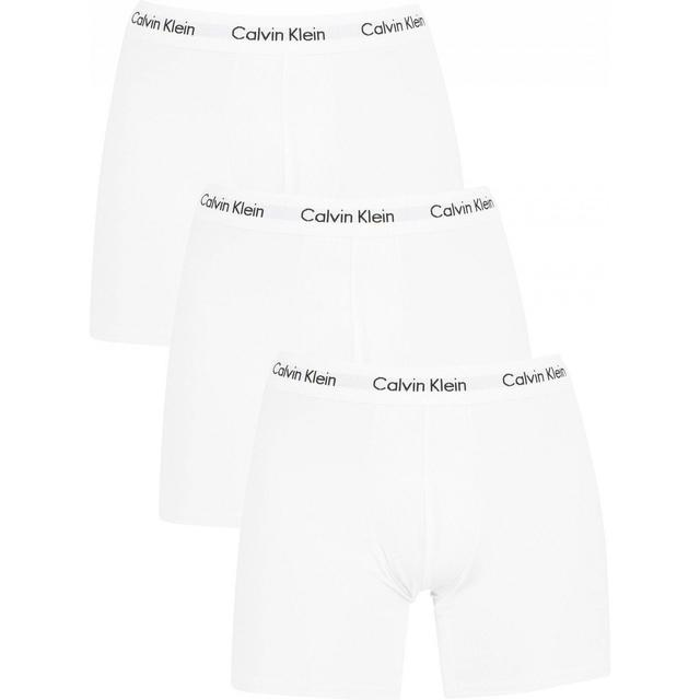Calvin Klein Cotton Stretch Boxers 3-pk - Hvid