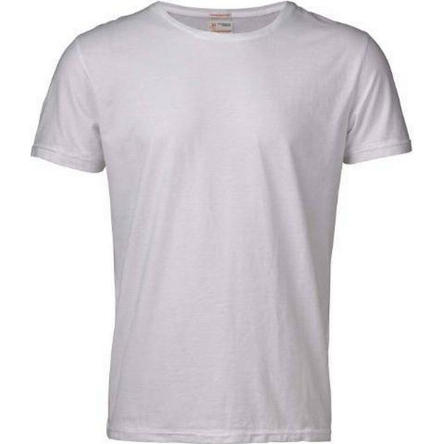 Knowledge Cotton Apparel Basic Regular Fit O-Neck Tee Bright White (10113)