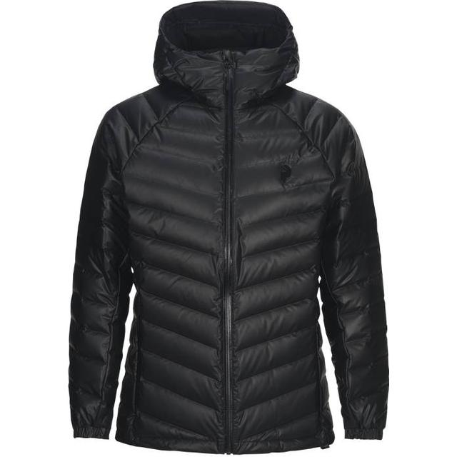 Peak Performance Frost Dry Down Hooded Jacket - Black