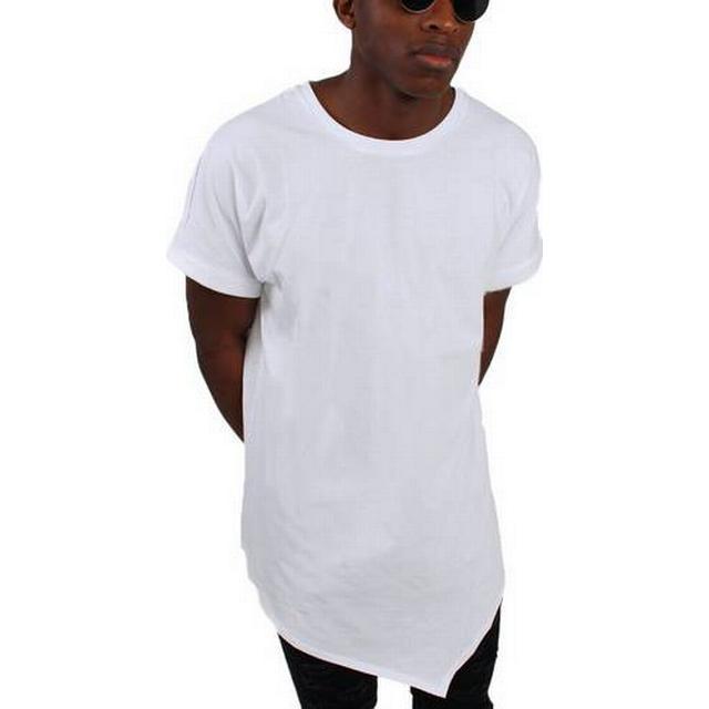 Urban Classics Asymetric Long Tee - White