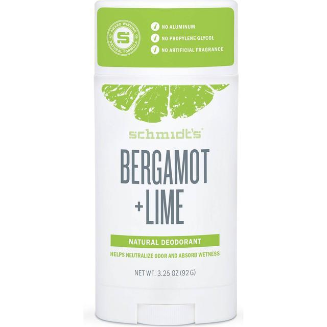 Schmidt's Bergamot + Lime Deo Stick 92g