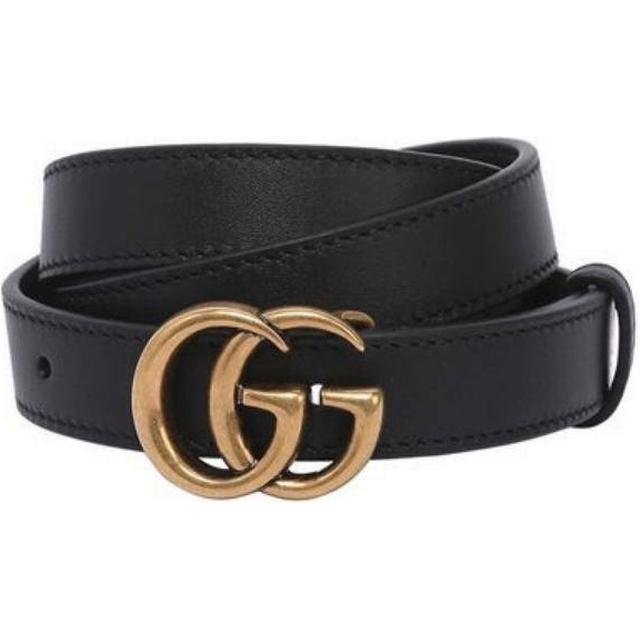 Gucci GG Marmont Belt - Black